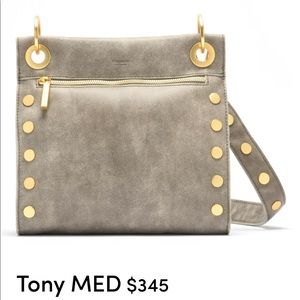 Hammitt Tony Med In Pew Brushed Gold